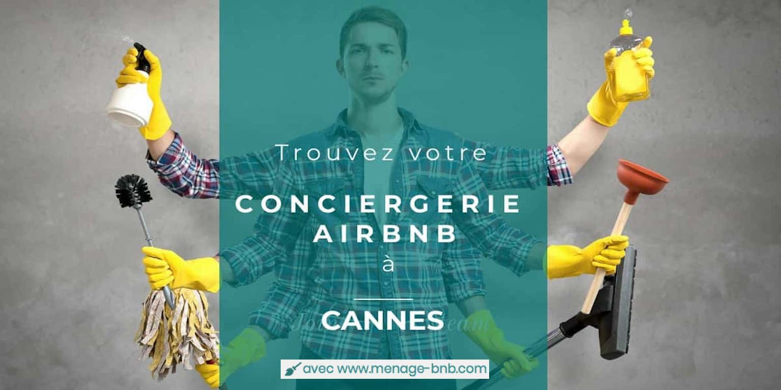 concierge airbnb à cannes
