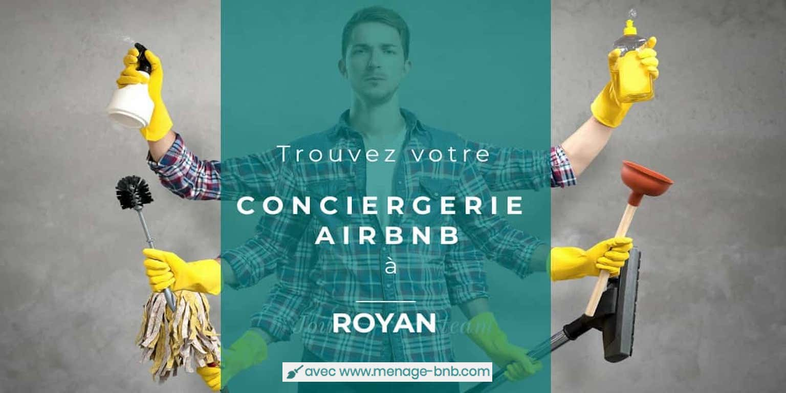 trouver un concierge airbnb à Royan